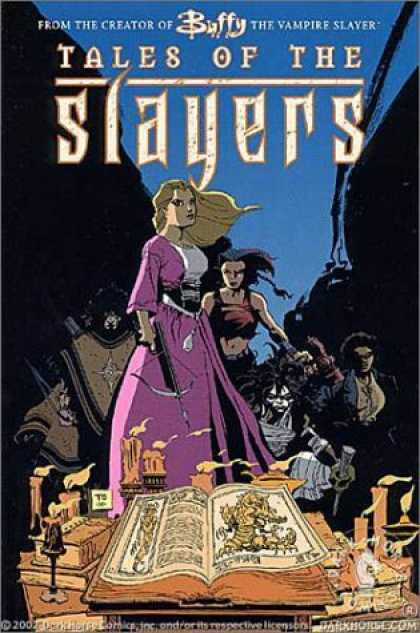Bestselling Comics (2006) - Buffy the Vampire Slayer: Tales of the Slayers by Joss Whedon