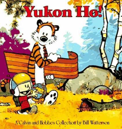 Bestselling Comics (2006) - Yukon Ho! by Bill Watterson - Calvin - Hobbs - Calvin And Hobbs Go Exploring - Calvin And Hobbs Go Sledding - Calvin And Hobbs Save The World From Monsters