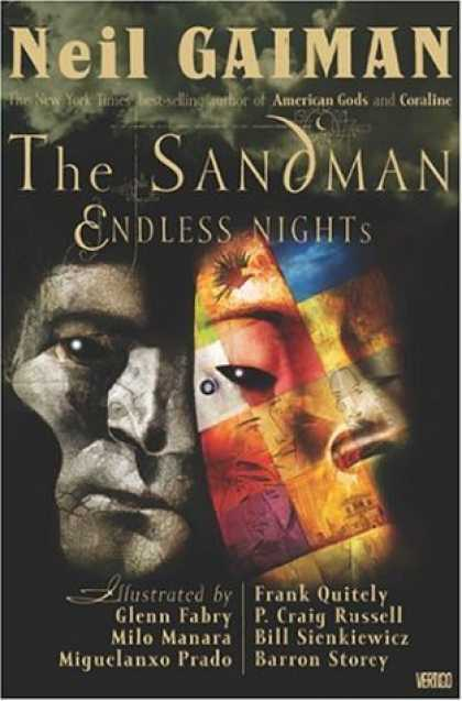 Bestselling Comics (2006) - The Sandman: Endless Nights by Neil Gaiman - Neil Gaiman - Sandman - Mosaic - Dream - Men