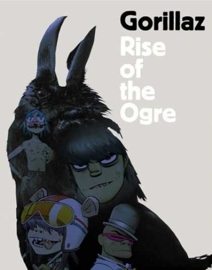 Bestselling Comics (2006) - Gorillaz: Rise of the Ogre by Gorillaz