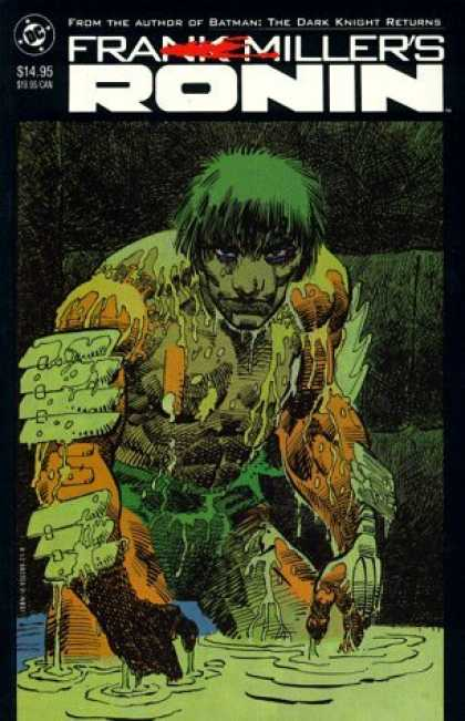 Bestselling Comics (2006) - Ronin by Frank Miller - Ronin - Green Hair - Water - Swamp - Monster