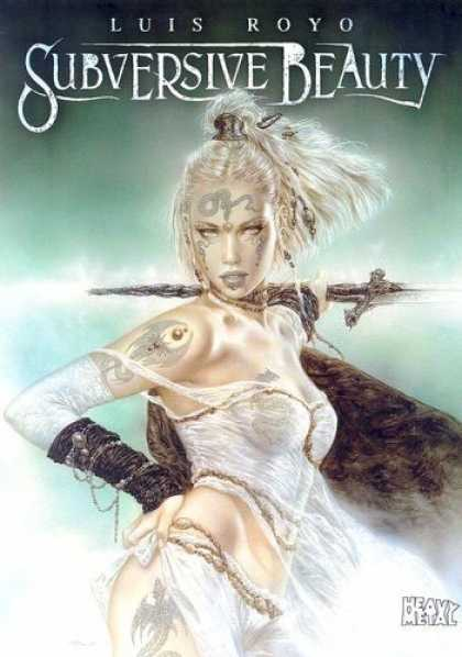 Bestselling Comics (2006) - Subversive Beauty by Luis Royo