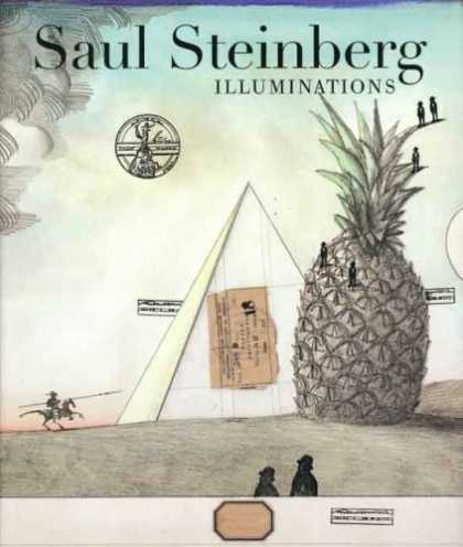 Bestselling Comics (2006) - Saul Steinberg: Illuminations by Joel Smith - Pineapple - Illuminations - Horseman - Triangle - Magic Moments