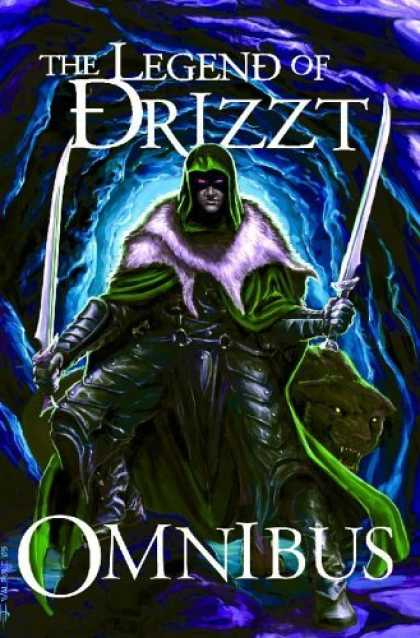 Bestselling Comics (2006) - Forgotten Realms Trilogy: Omnibus by R. A. Salvatore - Cave - Sabres - Drow Elf - Green Cloak - Dourden