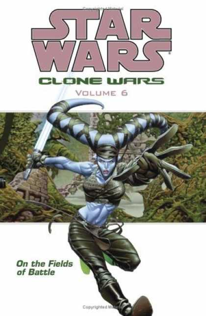 Bestselling Comics (2006) - On the Fields of Battle (Star Wars: Clone Wars, Vol. 6) by John Ostrander - Clone Wars - Volume 6 - Fields Of Battle - Sword - Ruins