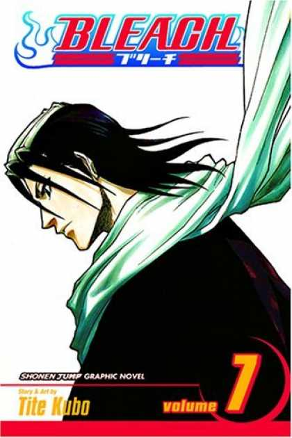 Bestselling Comics (2006) - Bleach, Vol. 7: The Broken Coda by - Kuchiki Byakuya - Shinigami - Tite Kubo - Volume 7 - Captain