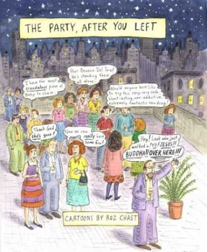 Bestselling Comics (2006) - The Party After You Left by Roz Chast