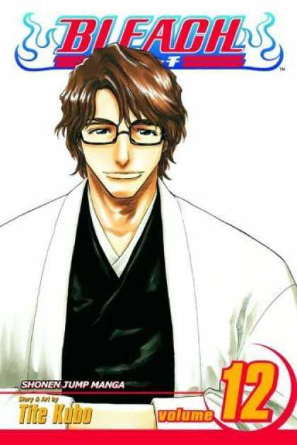 Bestselling Comics (2006) - Bleach, Vol. 12: Flower on a Precipice by Tite Kubo - Bleach - Brunette - Man - Tite Kubo - Shonen Jump
