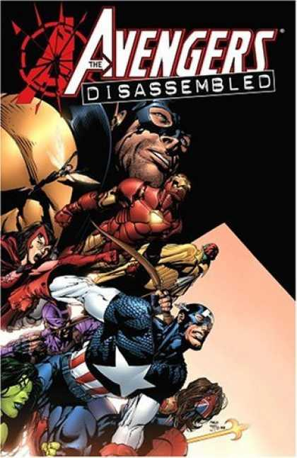 Bestselling Comics (2006) - Avengers Disassembled by Brian Michael Bendis - Avengers Disassembled - Captain America - Iron Man - She Hulk - Heroes