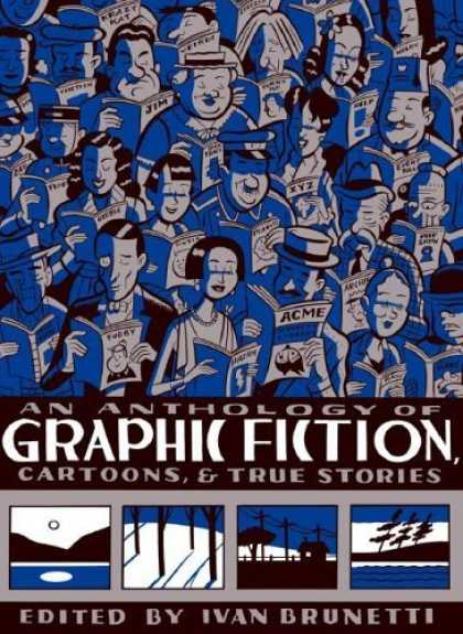 Bestselling Comics (2006) - An Anthology of Graphic Fiction, Cartoons, and True Stories by - Blue - Hats - Reading - Acme - Trees