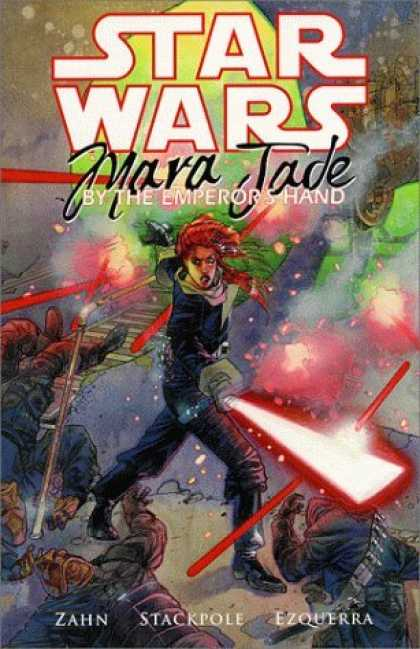 Bestselling Comics (2006) - Mara Jade: By the Emperor's Hand (Star Wars) by Timothy Zahn - Star Wars - Wars In Space - Imagination - Fighting - Win The War