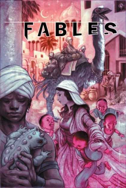 Bestselling Comics (2006) - Fables: Arabian Nights (and Days) - Volume 7 by Bill Willingham