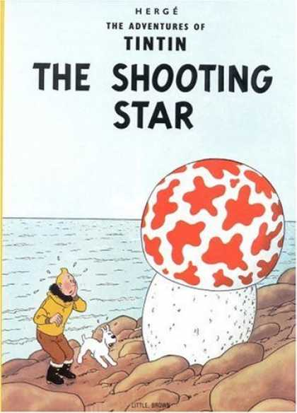 Bestselling Comics (2006) - The Shooting Star (The Adventures of Tintin) by Herge - Water - Beach - White Dog - Mushroom - Shooting Star