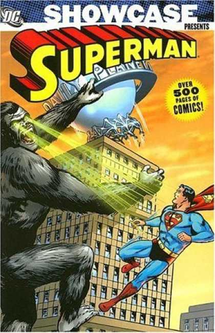 Bestselling Comics (2006) - Showcase Presents: Superman - Volume 2 by Jerry Siegel - King Kong - Daily Planet - Superman - Godzilla - Building