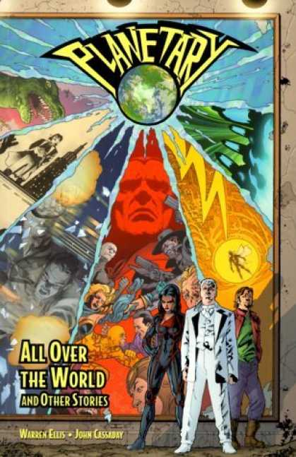Bestselling Comics (2006) - Planetary Vol. 1: All Over the World and Other Stories by Warren Ellis