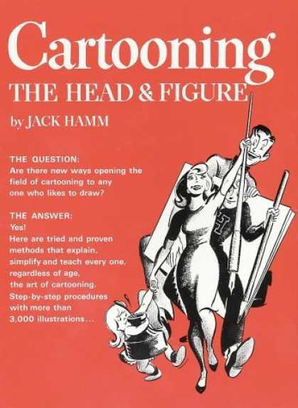 Bestselling Comics (2006) - Cartooning the Head and Figure by Jack Hamm - Jack Hamm - Question - Answer - Draw - Methods