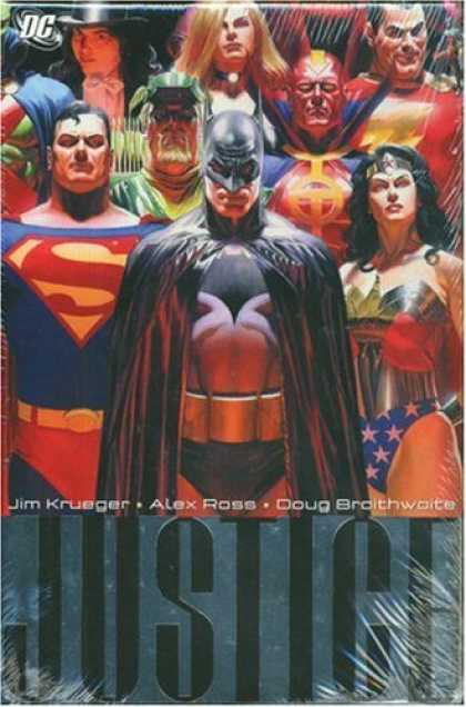Bestselling Comics (2006) - Justice: Vol. 1 by Alex Ross - Caped Crusader - Superheroes - Classic Characters - Superman - Wonder Woman