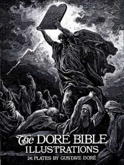 Bestselling Comics (2006) - The Dore Bible Illustrations by Gustave Dore - Stone Tablets - Bible - Lightning - Prayer - Clouds