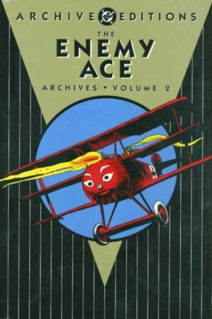 Bestselling Comics (2006) - The Enemy Ace Archives, Vol. 2 (DC Archive Editions) by Joe Kubert - Plane - Enemy Ace - Archive Edition - Dc - Volume 2