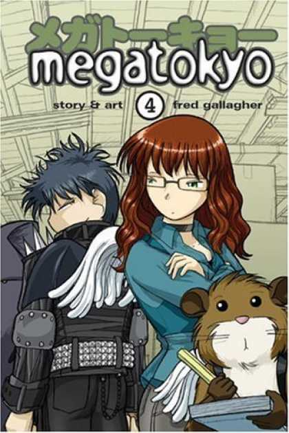 Bestselling Comics (2006) - Megatokyo: Volume 4 by Fred Gallagher