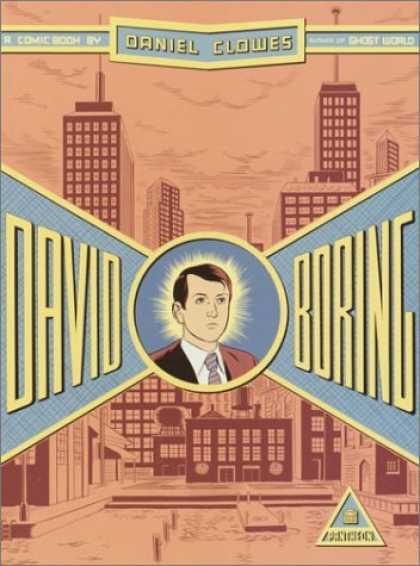 Bestselling Comics (2006) - David Boring by Daniel Clowes - Daniel Clowes - David Boring - New York City - Suit And Tie - Sepia Tone