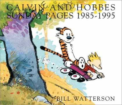 Bestselling Comics (2006) - Calvin and Hobbes: Sunday Pages 1985-1995 by Bill Watterson