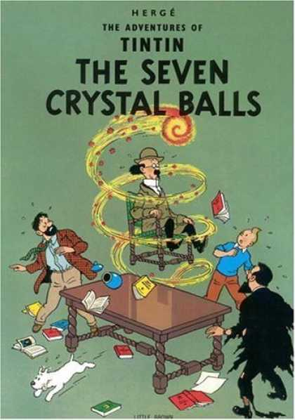 Bestselling Comics (2006) - The Seven Crystal Balls (The Adventures of Tintin) by Herge - Boy - Men - Books - Chair - Table