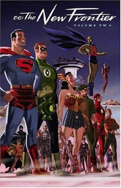 Bestselling Comics (2006) - DC: The New Frontier, Vol. 2 by Darwyn Cooke
