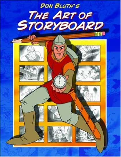 Bestselling Comics (2006) - Don Bluth's Art of Storyboard by Don Bluth - Don Bluth - The Art Of Storyboard - Pencil - Man - Clock