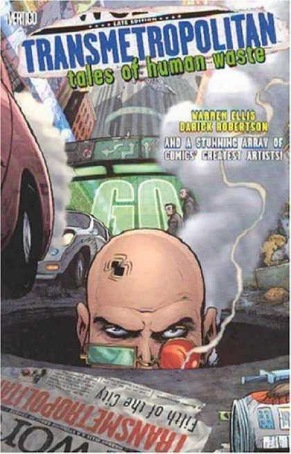 Bestselling Comics (2006) - Transmetropolitan Vol. 0: Tales of Human Waste by Warren Ellis