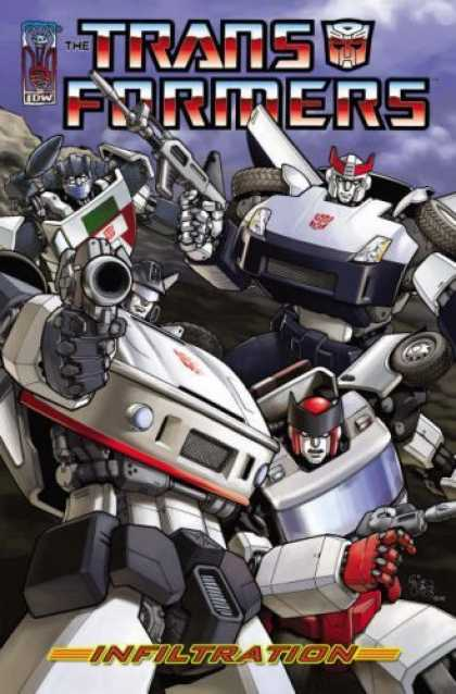 Bestselling Comics (2006) - Transformers: Infiltration by Simon Furman - The Transformers - Infiltration - Gun - Mask - Idw