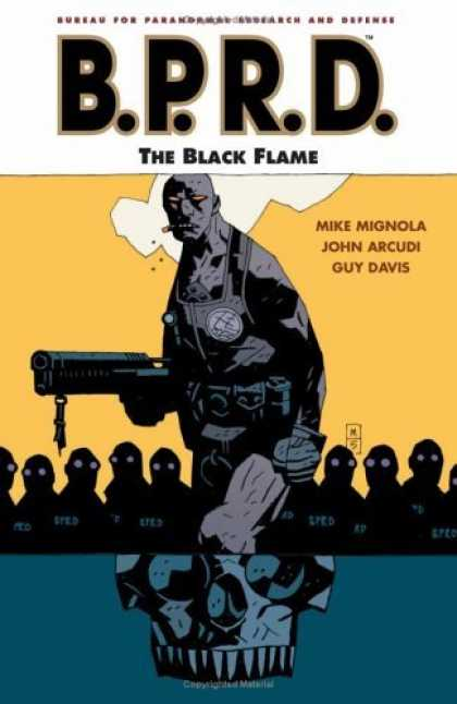 Bestselling Comics (2006) - B.P.R.D.: The Black Flame (B.P.R.D. (Graphic Novels)) by Mike Mignola