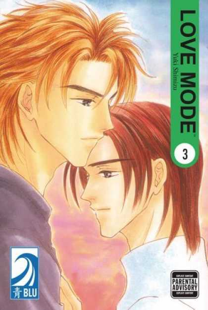 Bestselling Comics (2006) - Love Mode: Vol. 3 by Yuki Shimizu - Love Mode - Yuki Shimizu - Blu - Parental Advisory - One Young Man