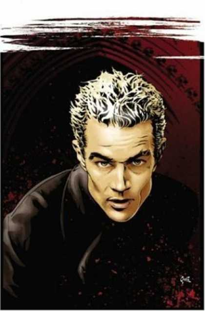 Bestselling Comics (2006) - Spike by Peter David - Frosted Hair - Man - Church - Black Shirt - Brown Eyes