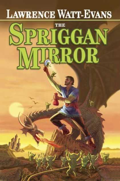 Bestselling Comics (2006) - The Spriggan Mirror by Lawrence Watt-Evans - Lawrence Watt-evan - The Spriggan Mirror - Dragon - Castle - Mountains