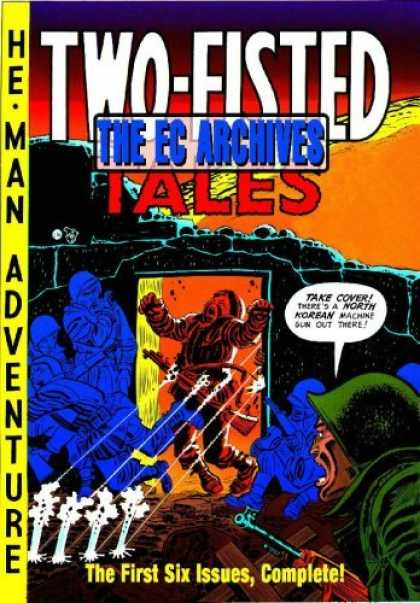 Bestselling Comics (2006) - The EC Archives: Two-Fisted Tales Volume 1 (The Ec Archives) by Harvey Kurtzman - Two-fisted Tales - Ec Archives - He-man Adventures - Complete - First Six Issues