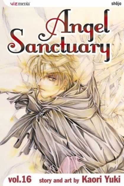 Bestselling Comics (2006) - Angel Sanctuary, Volume 16 (Angel Sanctuary (Paperback)) by Kaori Yuki - Angel Sanctuary - Cloke - Blonde Hair - Rocks - Kaori Yuki