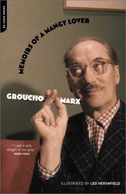 Bestselling Comics (2006) - Memoirs of a Mangy Lover by Groucho Marx - Memoirs Of A Mangy Lover - Glasses - Bald - Groucho Marx - Leo Hershfield