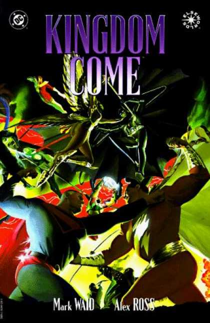 Bestselling Comics (2006) - Kingdom Come by Mark Waid - Kingdom Come - Dc - Mark Waid - Alex Ross - Elseworlds