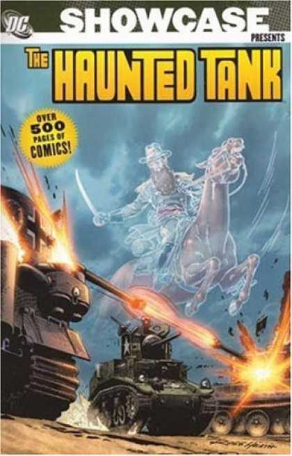 Bestselling Comics (2006) - Showcase Presents: The Haunted Tank by Bob Kanigher