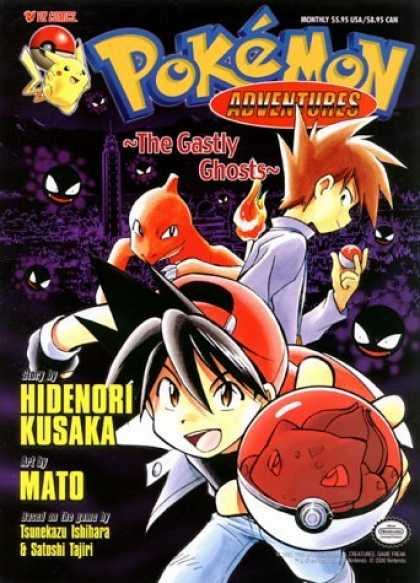 Bestselling Comics (2006) - Pokemon Adventures Volume 5: The Ghastly Ghosts by Toshihiro Ono