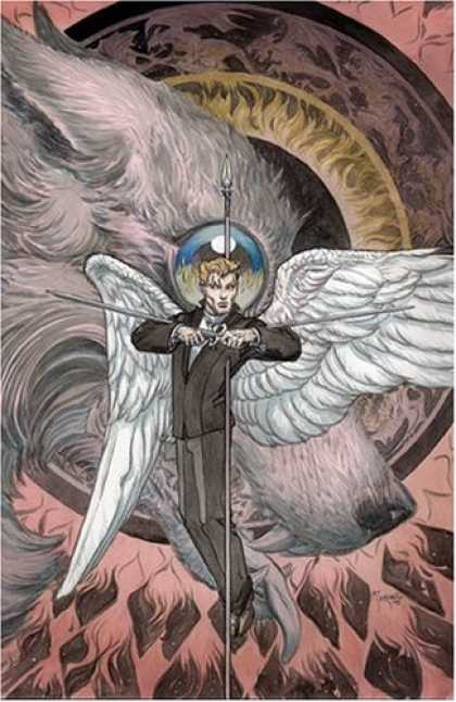 Bestselling Comics (2006) - Lucifer: Crux - Book #9 (Lucifer (Graphic Novels)) by Mike Carey - Gothic - Fantasy - Wings - Wolf - Eye
