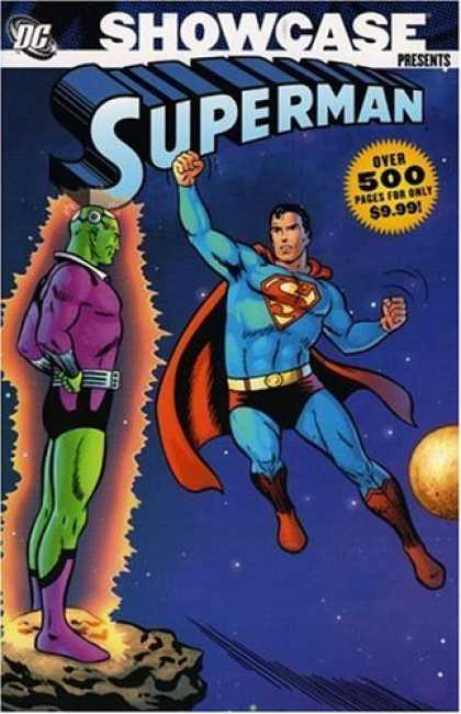 Bestselling Comics (2006) - Showcase Presents: Superman, Vol. 1 (Superman (Graphic Novels)) by Otto Binder - Monster - Superman - Alien - Moon - Space