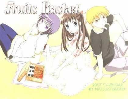 Bestselling Comics (2006) - Fruits Basket 2007 Calendar by Takaya Natsuki
