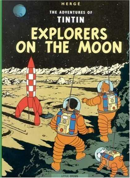 Bestselling Comics (2006) - Explorers on the Moon (The Adventures of Tintin) by Herge
