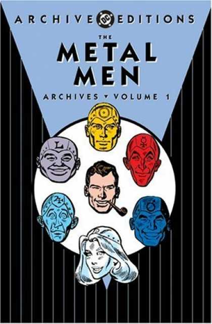 Bestselling Comics (2006) - The Metal Men Archives, Vol. 1 (DC Archive Editions) by Robert Kanigher - Archive Editions - Metal Men - Red - Yellow - Blue