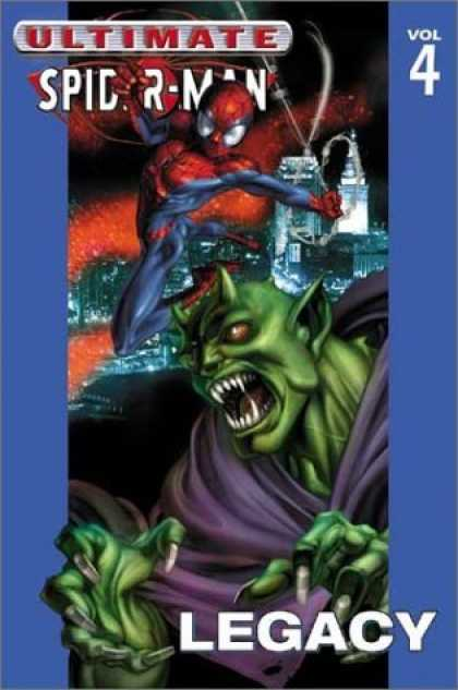 Bestselling Comics (2006) - Ultimate Spider-Man Vol. 4: Legacy by Brian Michael Bendis