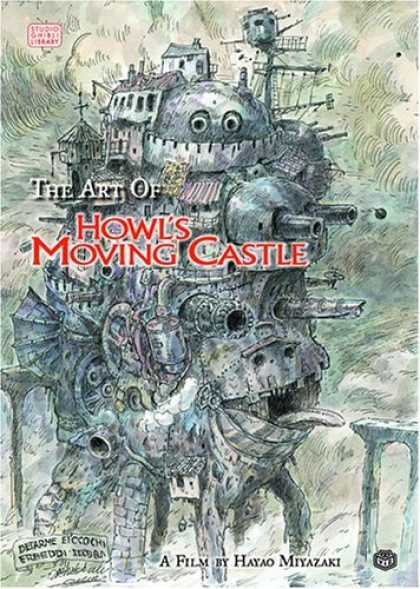 Bestselling Comics (2006) - The Art of Howl's Moving Castle by Hayao Miyazaki - Hayao Miyazaki - Manga - Anime - Walking Caslte - Cannon