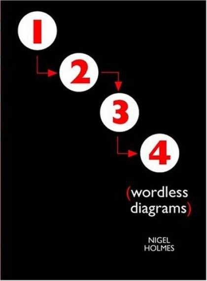 Bestselling Comics (2006) - Wordless Diagrams by Nigel Holmes - Numbers - Nigel Holmes - 1234 - Wordless Diagrams - Arrows