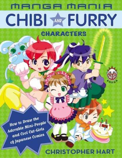 Bestselling Comics (2006) 922 - How To Draw - Mini-people - Cool Cat-girls - Japanese Comics - Christopher Hart